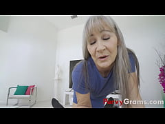 My Busty Grand-mom Rewards Me Inappropriately- ...