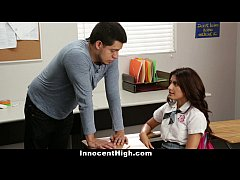 InnocentHigh - Ava Mendes Fucks Her Teacher For...