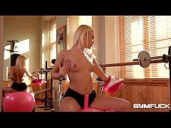 Gym fuck shows blonde Cecilia Scott's favorite ...