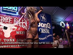 Wild Swinger Party Wet T-shirt Contest With Hot...