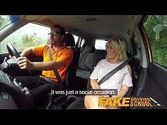 Fake Driving School Sexual discount for big tit...