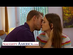Naughty America Lily Glee lets her friend's dad...