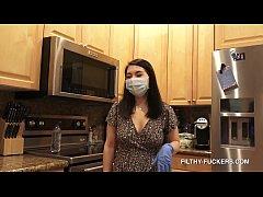 Big Tits Nude Maid Mina Moon - Housekeeping Hot...