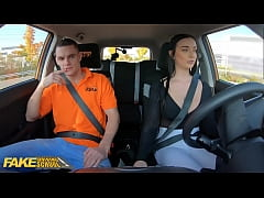 Fake Driving School Instructor Cheats with Hot ...