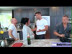 (Ashton Blake) Superb Busty Housewife Get Hard ...