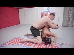 Jasmeen LaFleur mixed wrestling fight and after...