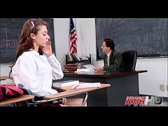 Skinny h. Girl Fucked By Teacher In Detention