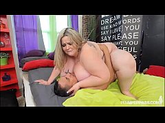 Busty SSBBW Mandy Majestic Takes Huge Cock Up Her Pussy
