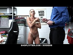 ShopLyfter-Blonde (Emma Hix) Thief Detained And...