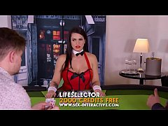 Poker Interactive Big Tits Wife Lost Her Ass