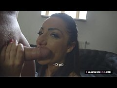 LaSublimeXXX Blowjob casting to an Italian MILF...