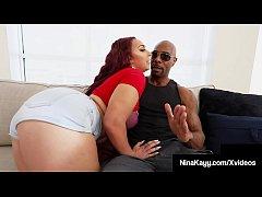 Thick Horny Nina Kayy Stalks, Bangs & Blows Big...