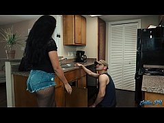 "Lonely Latina housewife fucks the ""plumber"" whi..."