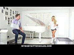 MyBabySittersClub - Blonde Teen Babysitter (Mol...