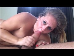 Young Latina Wife Suffering on Giant Cock While...