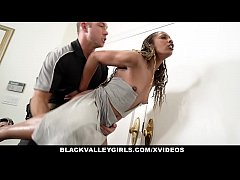 BlackValleyGirls - Hot Black Girl Gets Caught B...