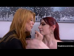 Penny Pax & Violet Monroe Fight Fuck Over Boss ...