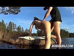 Norsk porno - Norge rundt med MonicaMilf compil...