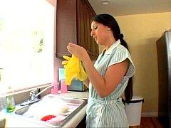 Luscious Lopez kinky maid