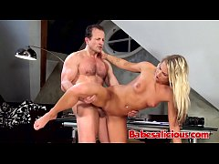 Babesalicious - American Blonde with Perky Tits Casting Fuck