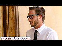 Naughty America - Rachael Cavalli fucks a virgi...