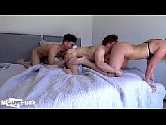 Marc And Marie Bust Dustins Bi-Sexual Cherry in...