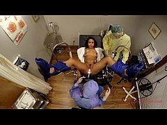 Adorable Latina Sheila Daniels Spread Eagle In ...