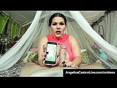 Dick Hungry Cuban Angelina Castro Sucks A Stran...