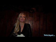 Public Agent Stunning German blonde babe paid t...