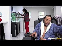 BANGBROS - Aidra Fox's Interracial Fuck Scene o...
