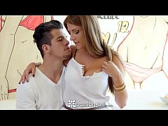 PASSION-HD Whip cream licking and fucking with ...