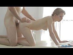 Dirty Flix - Nubiles Kortny cums hard on massag...