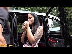 Fake Taxi Tattoo teen Jennifer Mendez fucked ha...