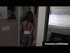 Ebony Tart Jenna Fox Milks Her Step-Father's Ha...
