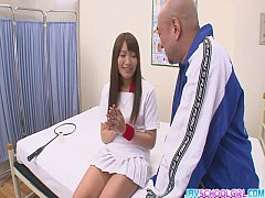 Sexy Suzu Minamoto Gets Creampied By Her Coach