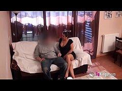 Esperanza, the 48yo teacher, sends a video bang...