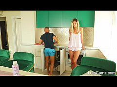 Hot Busty Babe Tried To Seduce The Plumber