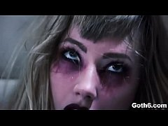Hell yeah! Goth teen nympho Ivy Wolfe goes CRAZY!