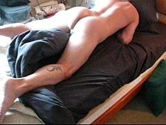 Guy on Bed