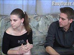 EasyDater - Hot Babe fucks blind bareback date ...