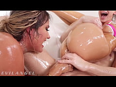 Save as 3gp HD - EvilAngel - Oily & Sloppy Anal Squirting Threesome