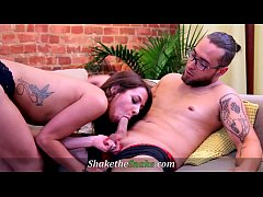 Shake The Snake - Hot Amateur Milf Takes-On Big...