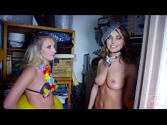 GIRLS GONE WILD - A Wardrobe Malfunction At The...