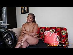 Thick Ebony Deep Throat Casting Queen