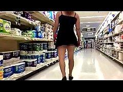 Upskirt - Grocery Store