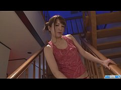 Maomi Nakazawa gives a group a japanese sex blo...