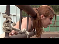 Bound ranchers stepdaughter anal banged