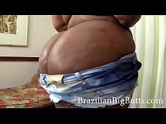 BrazilianBigButts.com BBW Big Booty Wearing Short