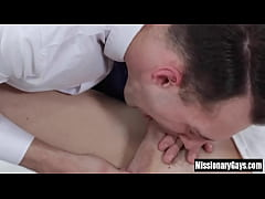 Young gay licked and fucked by mormon pastor
