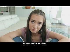 FamilyStrokes - Stepdaughter (Gia Paige) with B...